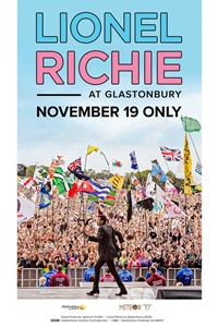 Lionel Richie at Glastonbury poster