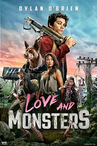 Poster of Love and Monsters