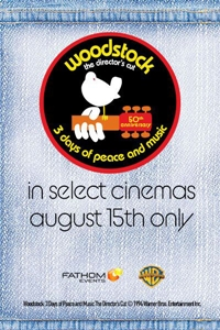 Poster of WOODSTOCK (1970) 50th Anniversary Director's Cut