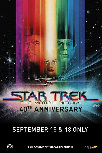Star Trek:The Motion Picture(1979)40th Anniversary Poster