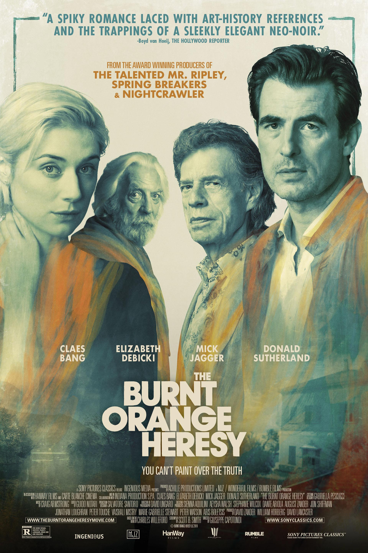 Poster for The Burnt Orange Heresy