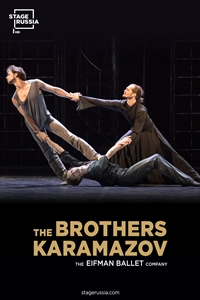 Poster of Stage Russia: The Brothers Karamazov