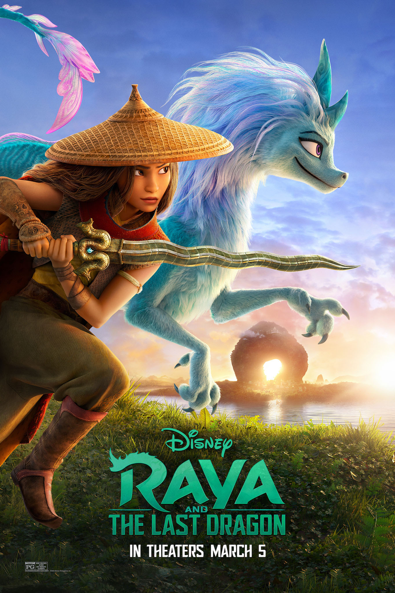 Poster of Raya and the Last Dragon