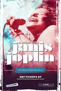 Poster of A Night with Janis Joplin