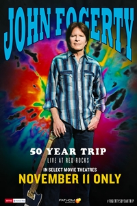 Poster for John Fogerty - 50 Year Trip: Live at Red Rocks