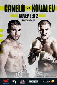 Poster of Canelo Alvarez vs. Kovalev