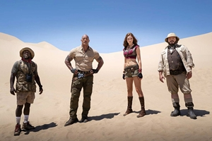 Still 0 for Jumanji: The Next Level 3D