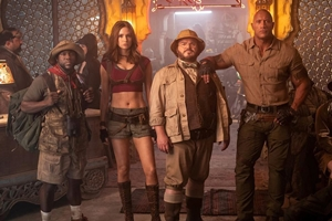 Still 1 for Jumanji: The Next Level 3D