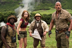 Still 7 for Jumanji: The Next Level 3D