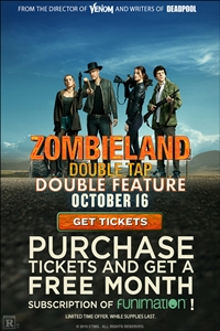Poster for Zombieland: Double Tap - Double Feature