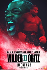Poster of Wilder vs. Ortiz