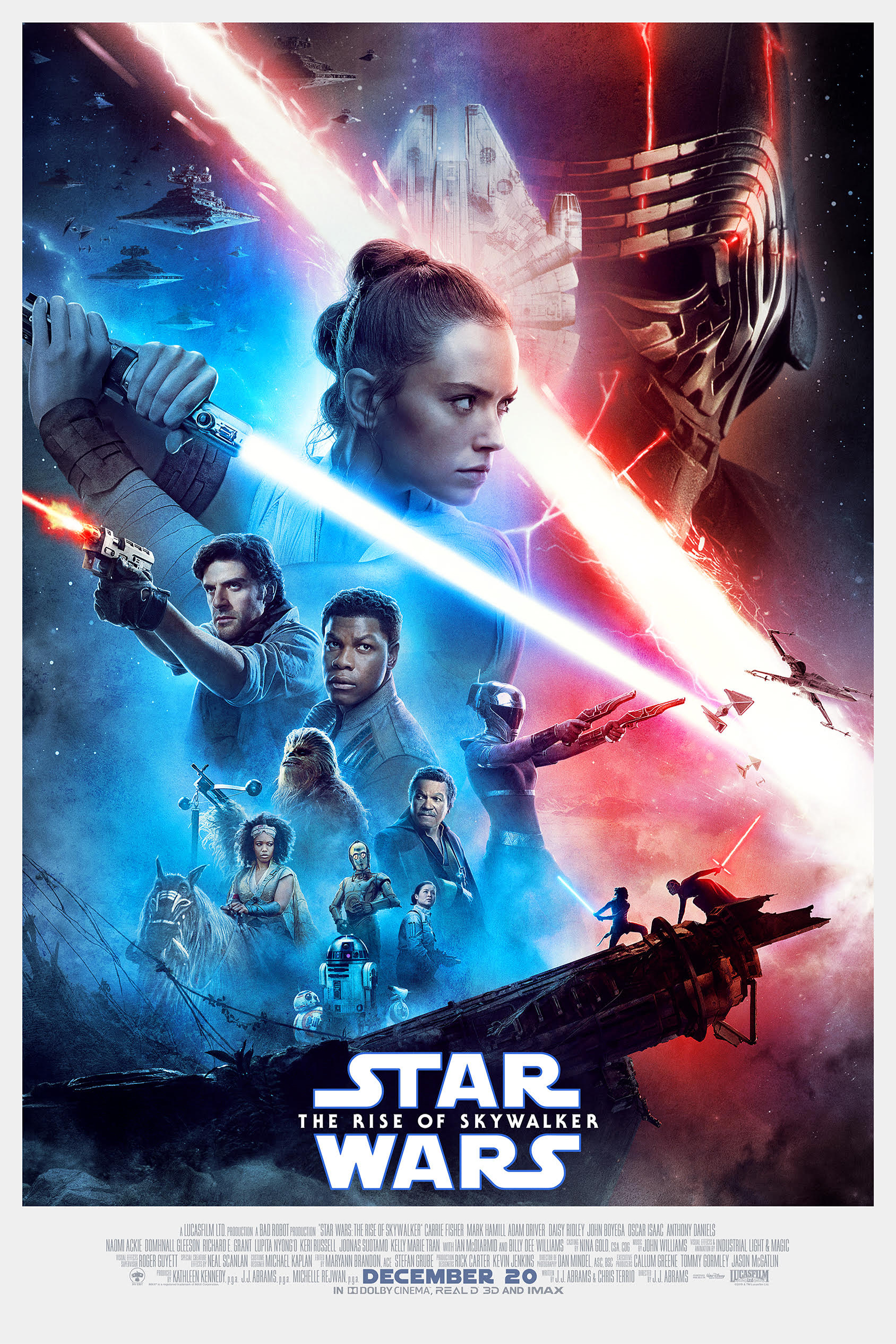 Poster of Star Wars: The Rise Of Skywalker 3D