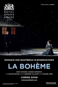 Royal Opera House: La Boheme Poster