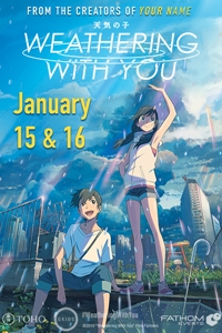 Poster for Weathering With You (Fan Preview Screening)