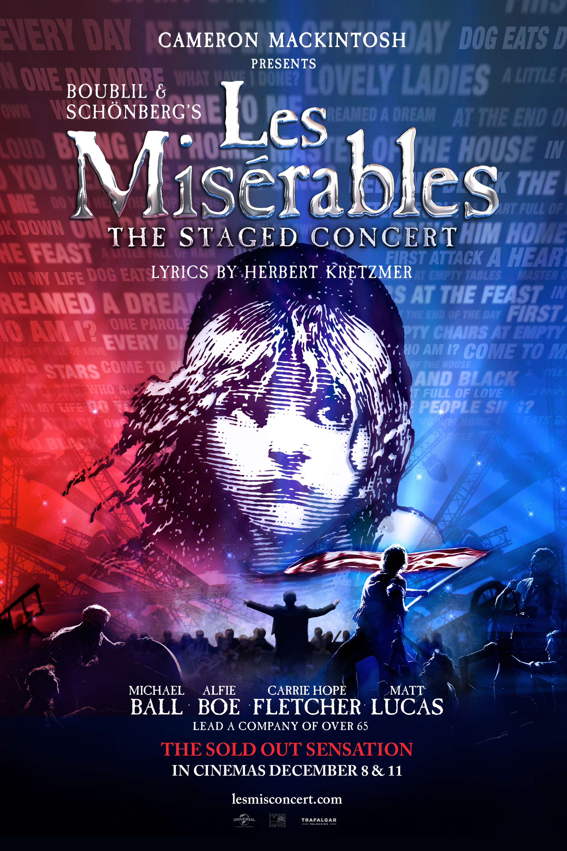 Les Miserables -  The Staged Concert Poster