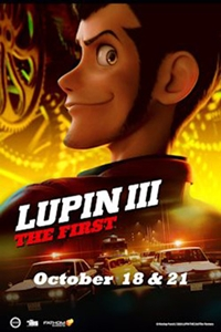 Lupin III: The First (Dubbed) Poster
