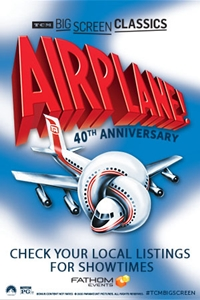 Poster of Airplane! (1980) 40th Anniversary presented by TCM