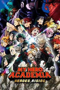 Poster ofMy Hero Academia: Heroes Rising
