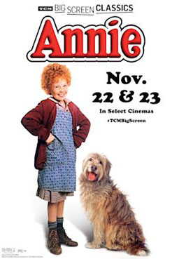 Still of Annie (1982) presented by TCM