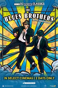 Poster of The Blues Brothers (1980) 40th Anniversary presented by TCM