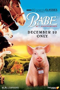 Poster of Babe (1995) 25th Anniversary presented by TCM