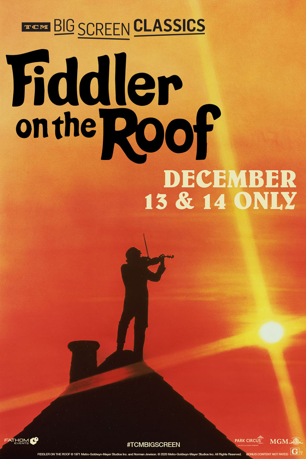 Still of Fiddler on the Roof (1971) presented by TCM