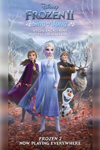 Poster for Frozen II Sing-Along