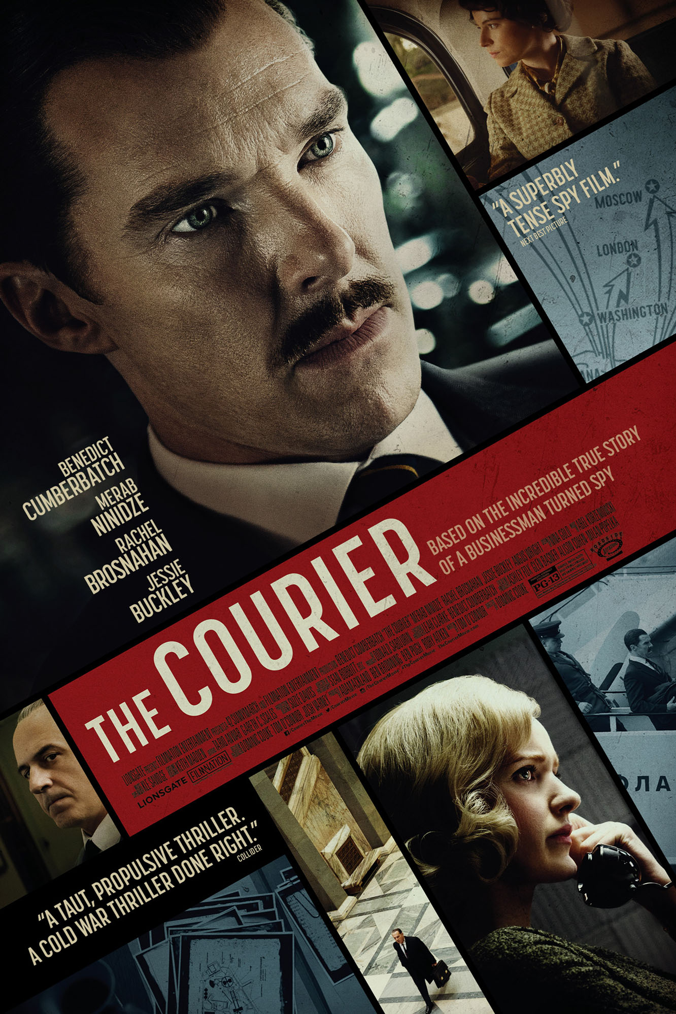 Poster for The Courier