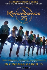 Poster for Riverdance 25th Anniversary Show