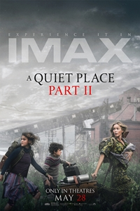 A Quiet Place Part II: The IMAX 2D Experience Poster