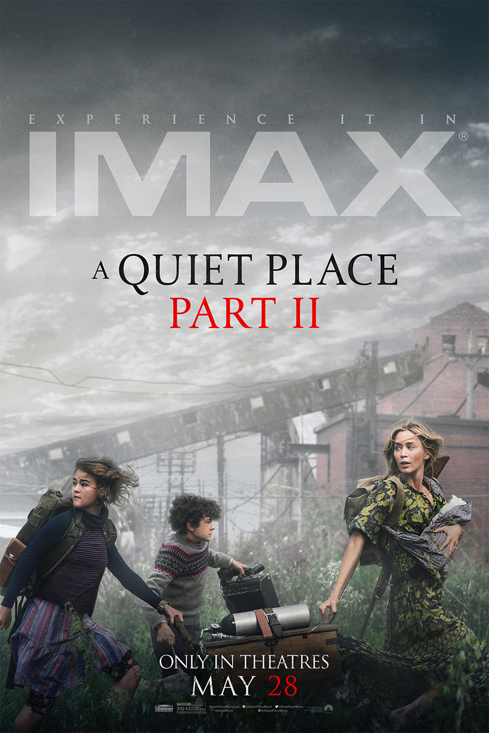 Poster for A Quiet Place Part II: The IMAX 2D Experience