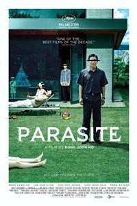Parasite Black and White Poster