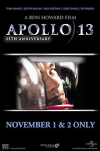 Poster of Apollo 13 25th Anniversary