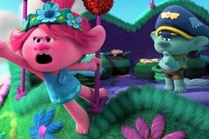 Still #2 forTrolls World Tour in RealD 3D