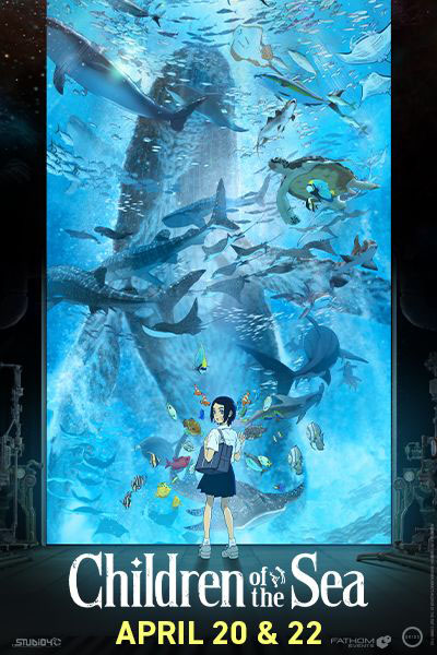Poster for Children of the Sea (Premiere Event)