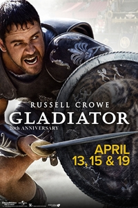 Gladiator 20th Anniversary Poster