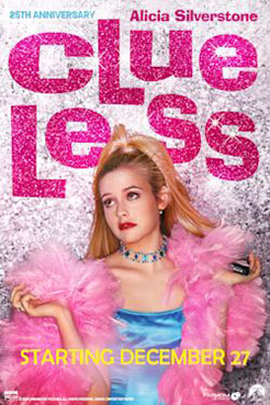 Clueless 25th Anniversary Poster