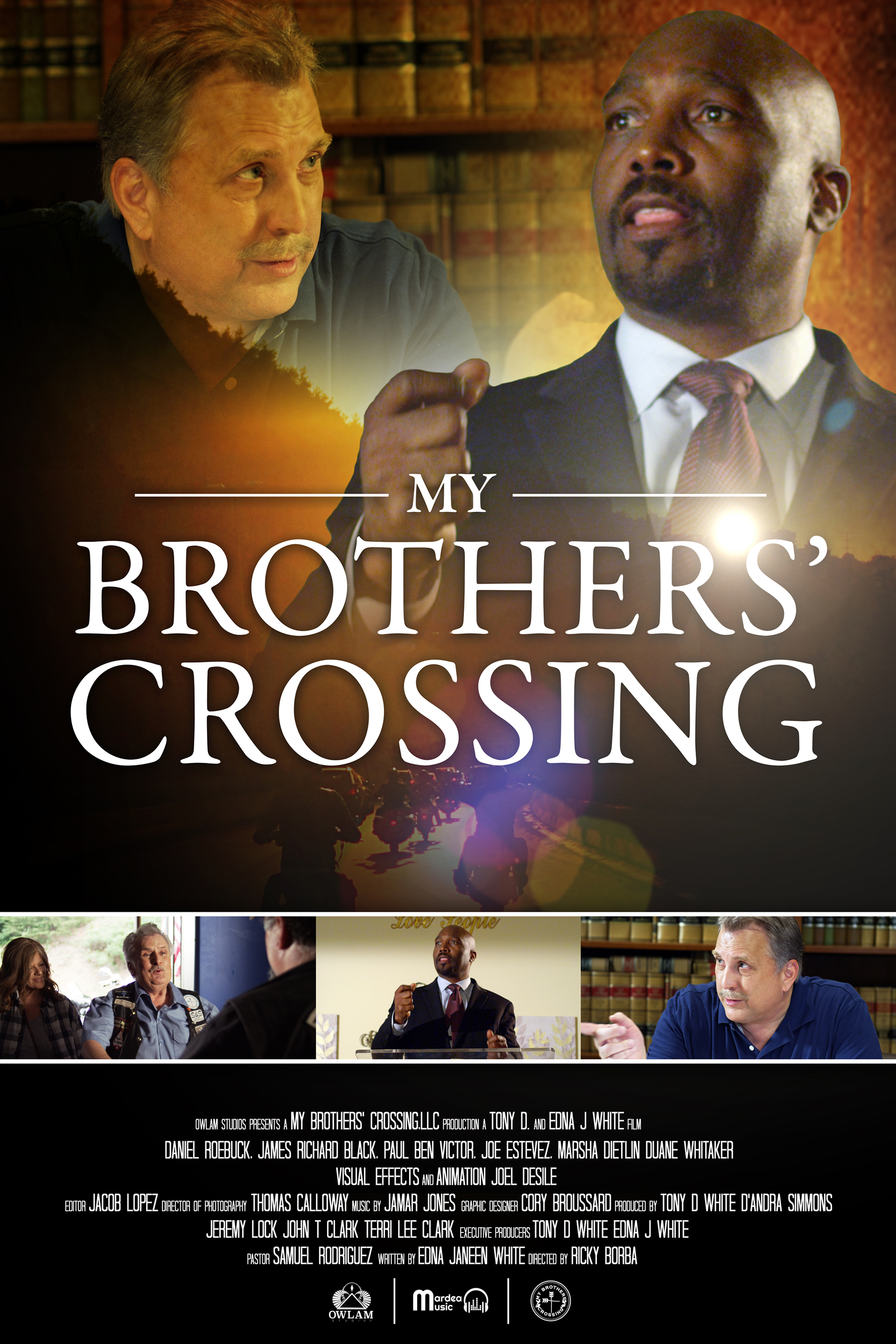 Poster for My Brothers' Crossing