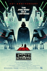 Poster ofStar Wars: Episode V - The Empire Strikes Back 40t