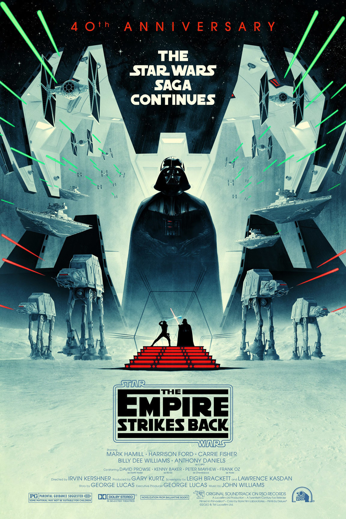 Poster of Star Wars: Episode V - The Empire Strikes Back 40t