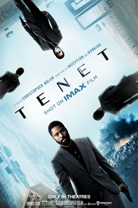 Tenet: The IMAX 2D Experience poster