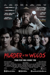 Poster for Murder in the Woods