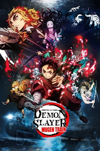 Poster of Demon Slayer  - Kimetsu no Yaiba - The Movie: Mugen Train