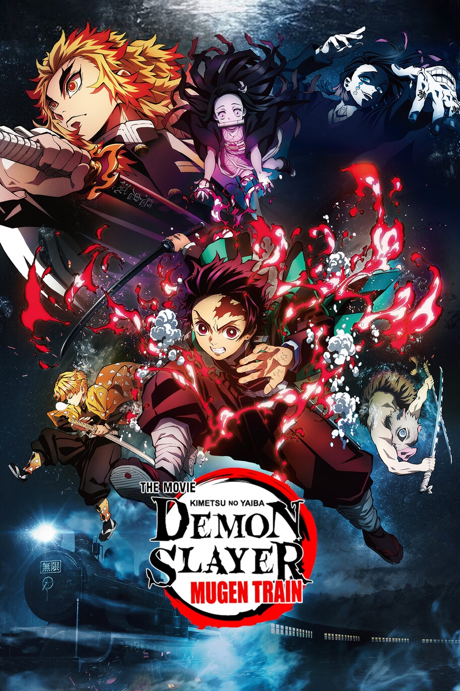 Poster for Demon Slayer  - Kimetsu no Yaiba - The Movie: Muge