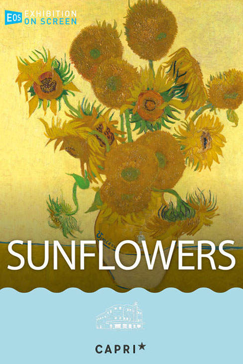 Still of Exhibiton on Screen: Sunflowers
