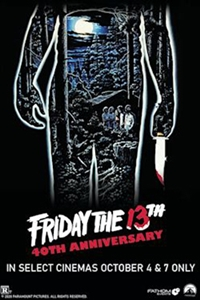 Poster of Friday the 13th - 40th Anniversary