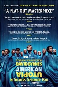 Poster for David Byrne's American Utopia (American Utopia)