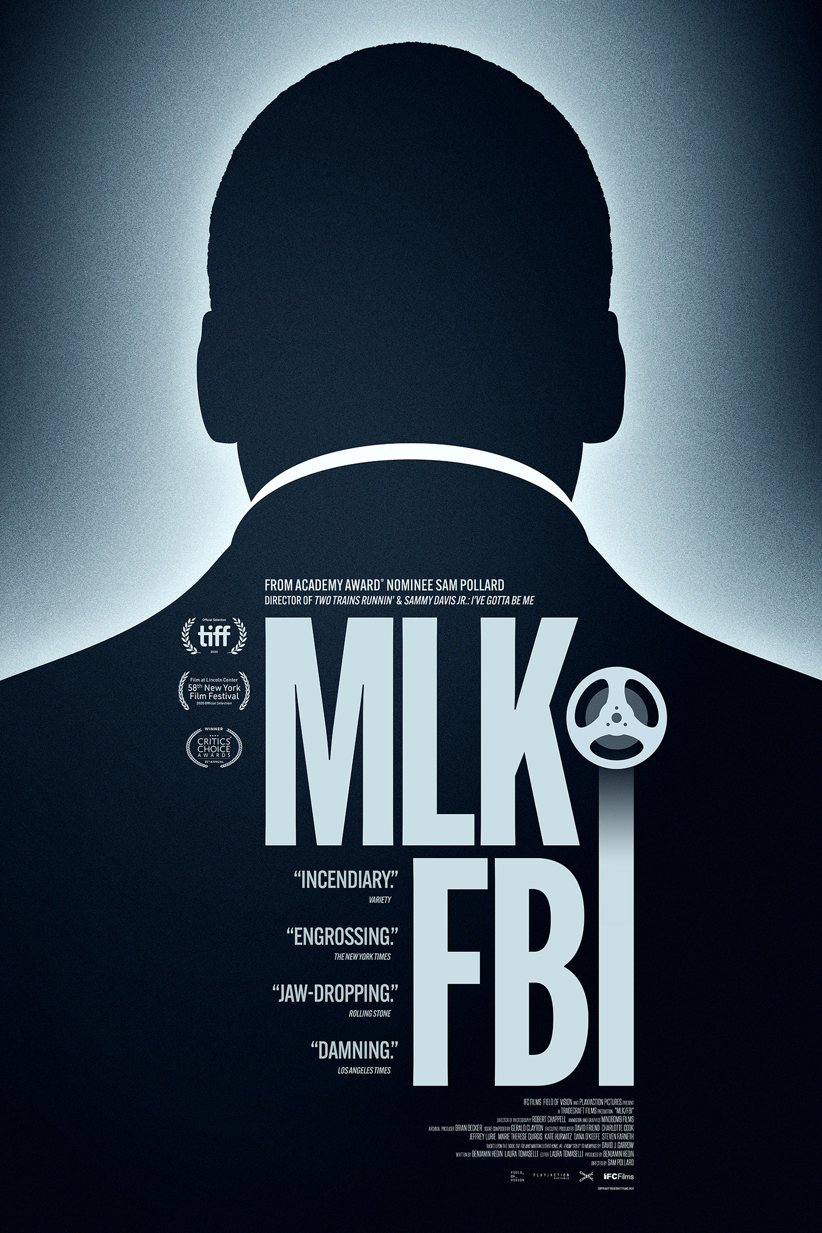 Poster of MLK/FBI