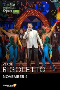 Poster of Rigoletto: 2020 Met Opera Encore