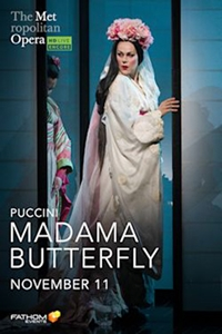 Poster of Madama Butterfly: 2020 Met Opera Encore